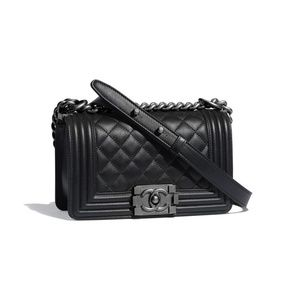 Chanel Bags - Chanel Black Quilted Small Boy Bag 2CK1127